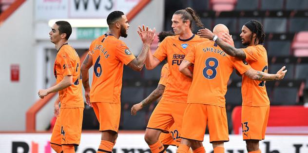 Bournemouth 1-4 Newcastle United   MAÇ SONUCU
