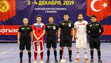 Futsal Milli Takımı hazırlık maçında Kırgızistan'a 5-3 mağlup