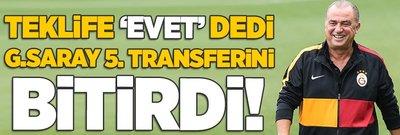 Teklife 'Evet' dedi! Galatasaray 5. transferini bitirdi