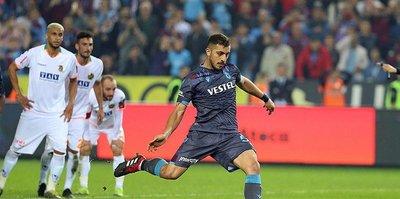 Trabzonspor penaltıda ilk sırada