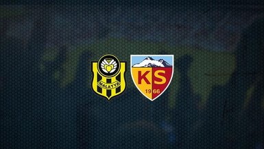 Yeni Malatyaspor-Kayserispor maçı CANLI