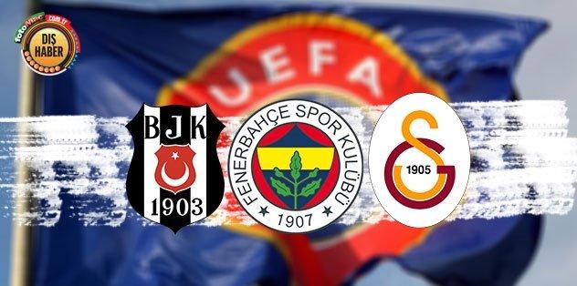 UEFA açıkladı! İşte en çok gelir elde eden Türk kulübü