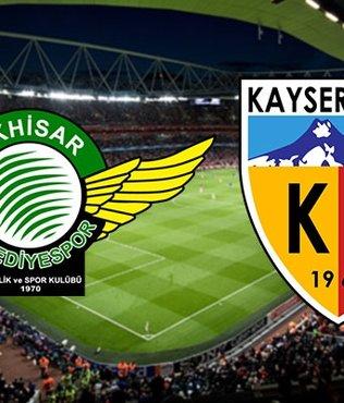 Akhisarspor - Kayserispor | CANLI