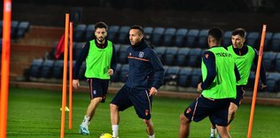 Başakşehir Galatasaray maçı hazırlıklarına başladı