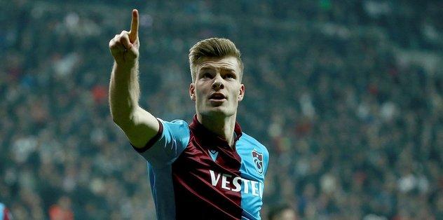 Trabzonspor'un yıldızı Sörloth Süper Lig'de zirvede! - Futbol -
