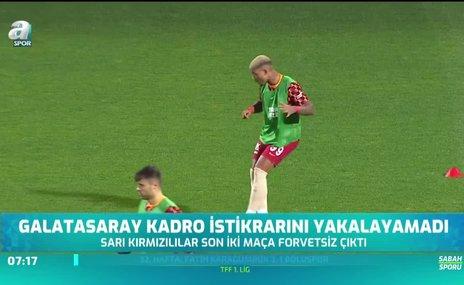 Galatasaray'da kadro sorunu sürüyor!