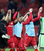 Bayer Leverkusen çeyrek finalde!