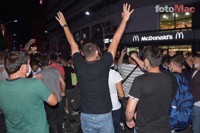 Trabzon şehrinde Türkiye Kupası sevinci! Meydan doldu taştı