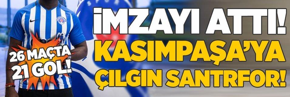 İmzayı attı! Paşa'ya 26 maçta 21 gol atan çılgın santrfor
