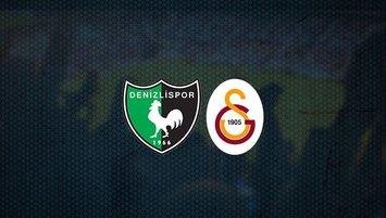 Denizlispor - Galatasaray maçı saat kaçta ve hangi kanalda?