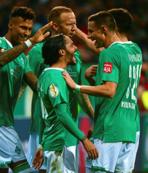 Borussia Dortmund'a kupada Bremen şoku!