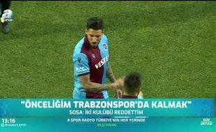 """Jose Sosa'dan transfer açıklaması! """"Trabzonspor..."""""""
