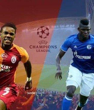 Galatasaray - Schalke maçı ne zaman, saat kaçta? GS Schalke maçı hangi kanalda? 2018 Şampiyonlar Ligi