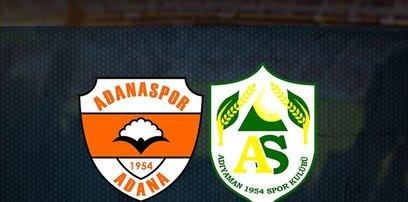 Adanaspor-Adıyaman FK maçı CANLI İZLE