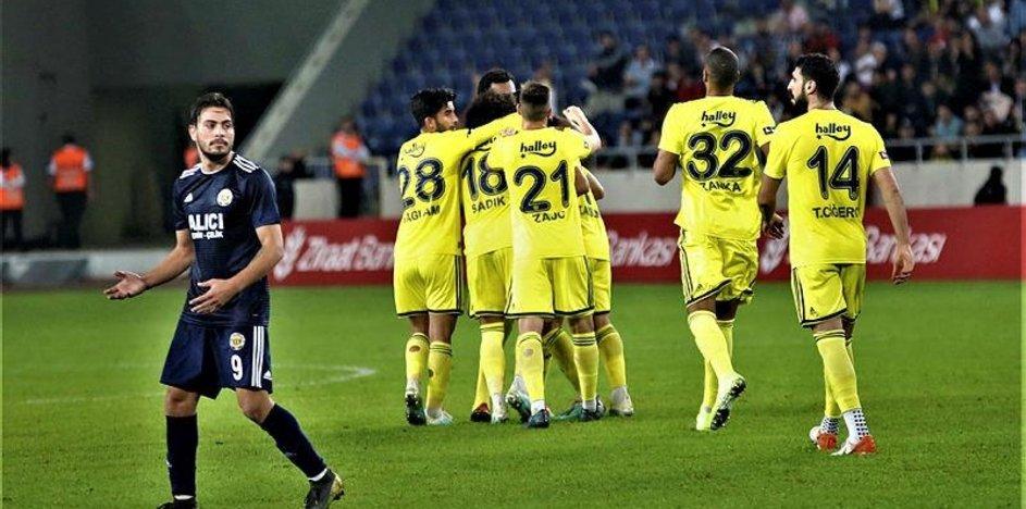 İşte Tarsus İ.Y - Fenerbahçe maçından kareler