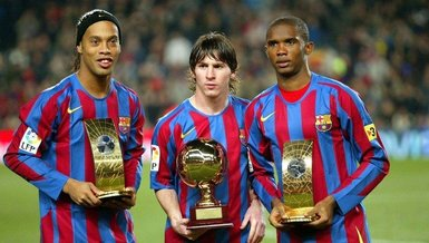 Samuel Eto'o'dan Ronaldinho'ya duygusal mesaj!