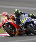 Rossi, Marquez'i kasten çarpmakla suçladı