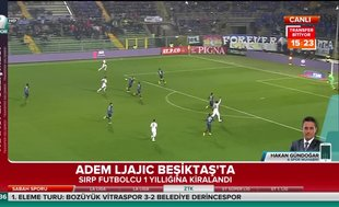 Adem Ljajic Beşiktaş'ta
