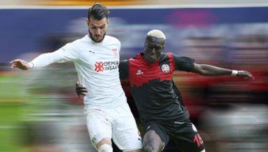 Fatih Karagümrük - Sivasspor: 1-1 | MAÇ SONUCU