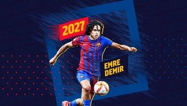 Kayserispor'un 17 yaşındaki yeteneği Emre Demir Barcelona'ya transfer oldu!