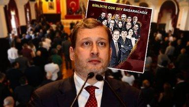 Galatasaray Başkan adayı Burak Elmas ekibini tanıttı!
