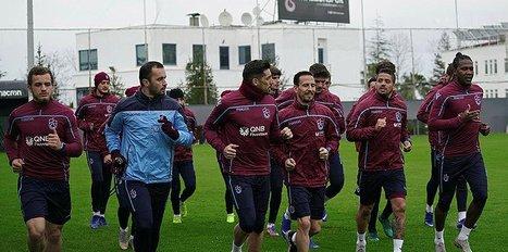 Trabzonspor'da Antalyaspor maçı hazırlıkları başladı
