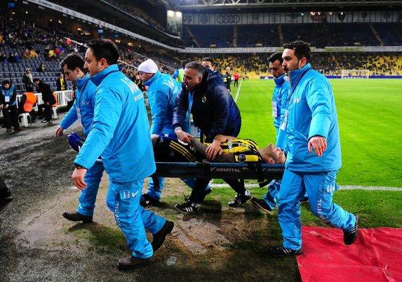 Fernandao'nun kolu kırıldı