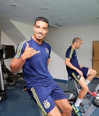 Fenerbahçe'de Dirar takıma katıldı