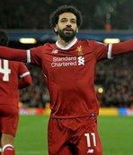 Mohammed Salah, Drogba'nın rekorunu Anfield'a gömdü