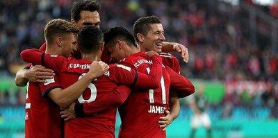 Bayern Münih, Wolfsburg deplasmanında güldü