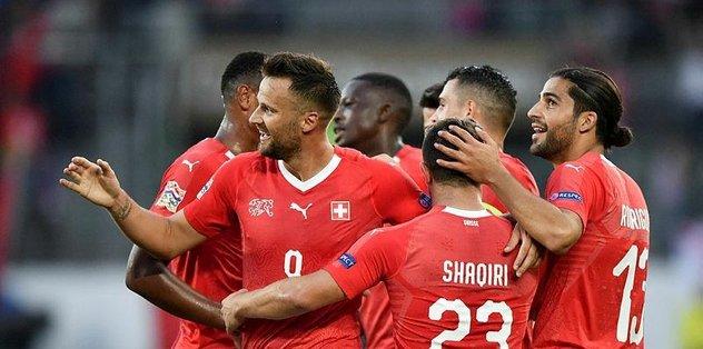 İsviçre, konuk ettiği İzlanda'yı 6-0 mağlup etti