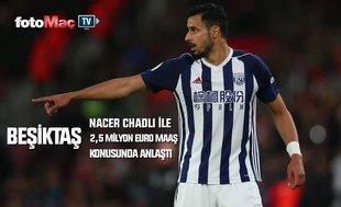 Nacer Chadli Beşiktaş'a 'Evet' dedi!