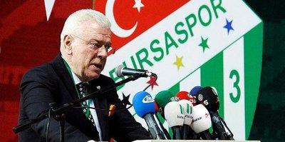 """Bursaspor Başkanı Ali Ay: """"VAR sisteminden dolayı 8 puan kaybettik"""""""
