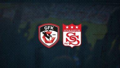 Gaziantep FK Sivasspor maçı CANLI