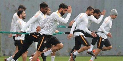 Galatasaray, Medipol Başakşehir maçı hazırlıklarına başladı
