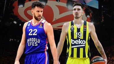 Son dakika spor haberleri: Anadolu Efes ve Fenerbahçe Beko'nun THY EuroLeague Play-Off'taki rakipleri belli oldu!