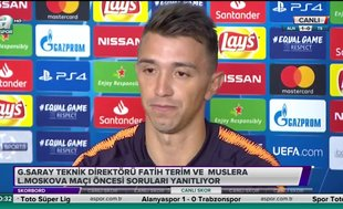 """Fernando Muslera: """"Evimize geri döndük"""""""