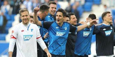 Hoffenheim, Şampiyonlar Ligi'nde oynamaya hak kazandı