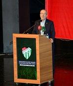 Bursaspor'da yönetici Nihat Arı istifa etti