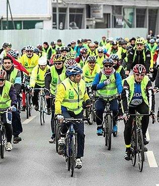 Pedallar, sağlık için çevrilecek