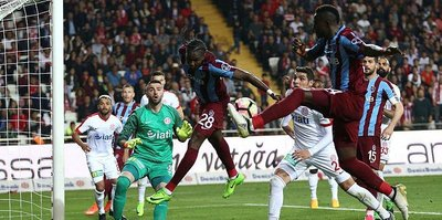 Trabzon ile Antalya 43. randevuda