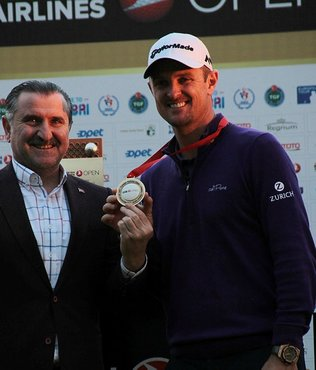Turkish Airlines Open 2017'nin şampiyonu Justin Rose oldu