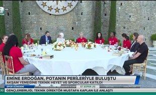 Emine Erdoğan Potanın Perileri ile buluştu