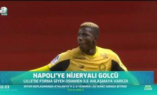 Napoli'ye Nijeryalı golcü!