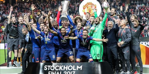 Man United claim first Europa League title