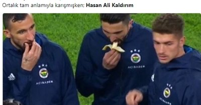 Herkes bunu konuşuyor! Derbide Hasan Ali Kaldırım...