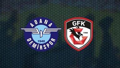 Adana Demirspor Gaziantep FK maçı CANLI