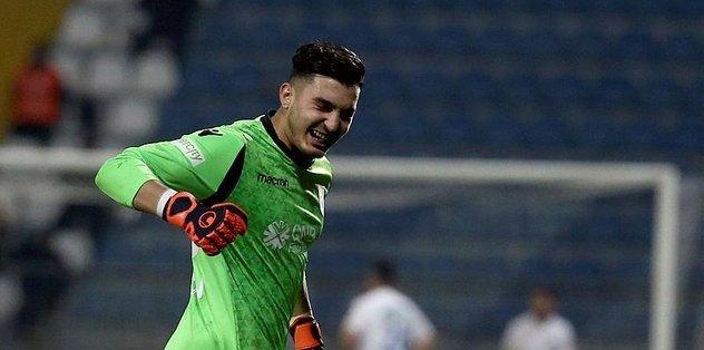 Trabzonspor'da kaleci Uğurcan Çakır'dan siftah