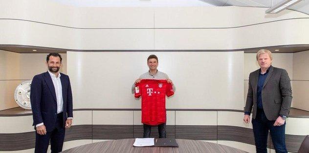 Bayern Münih Thomas Müller ile sözleşme uzattı! - Almanya Bundesliga -
