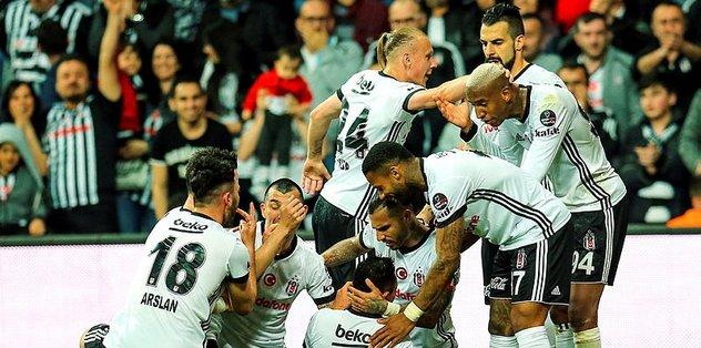 Beşiktaş, Vodafone Park'ta seriye bağladı
